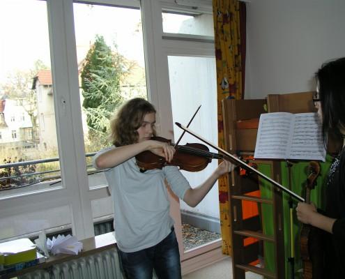 Geigenunterricht für Jugendliche